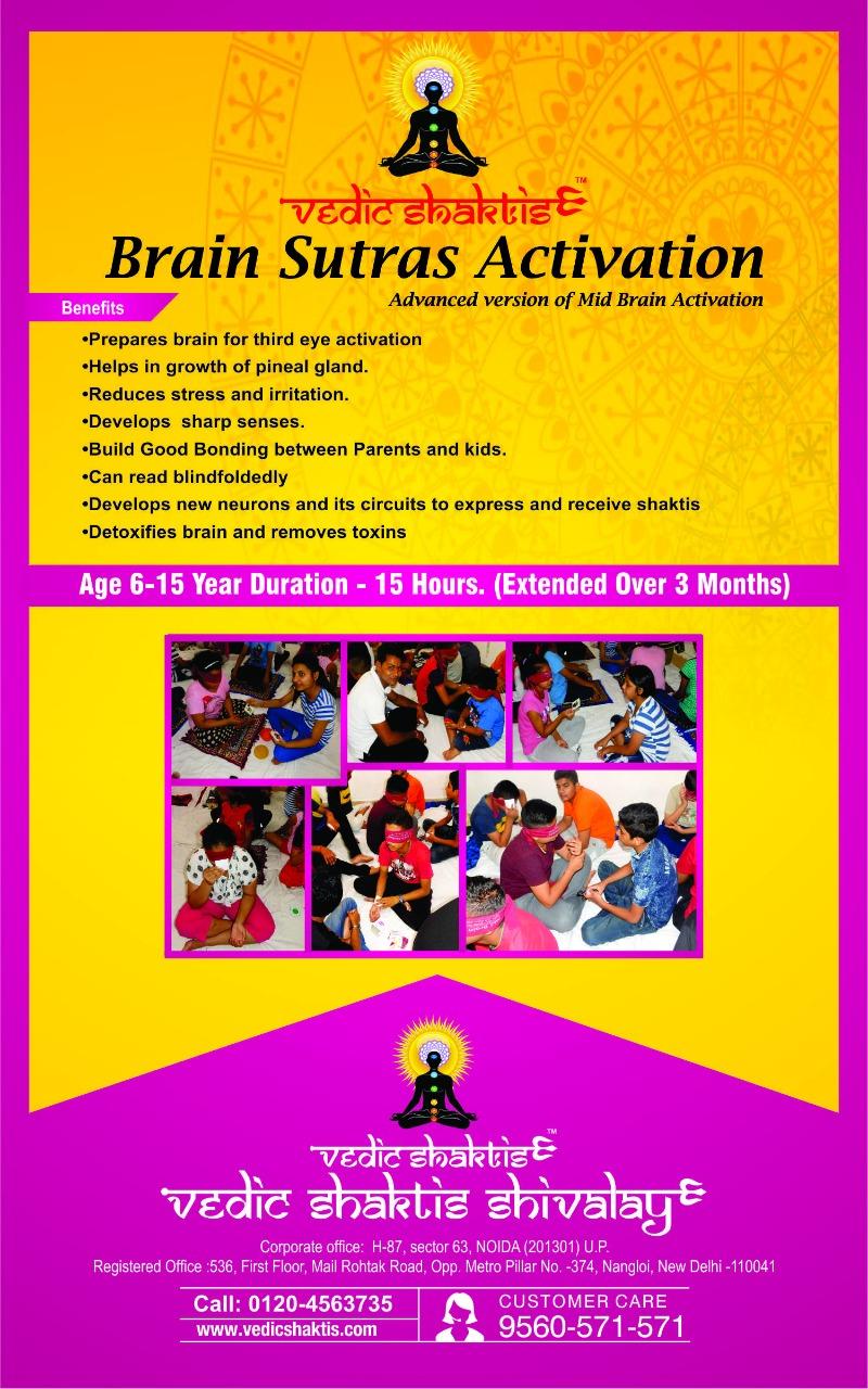 BRAIN SUTRAS ACTIVATION COURSEEducation and LearningWorkshopsNoidaNoida Sector 14