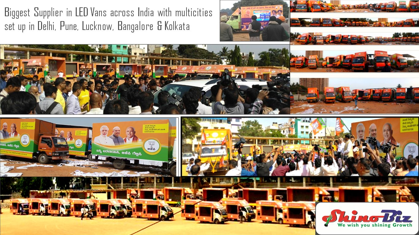 Outdoor Led screen road show canter display
