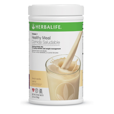 HERBALIFE FORMULA-1  Nutrition Shake Mix French Vanilla Soy protein based meal drinkHealth and BeautyHealth Care ProductsGurgaonTown House