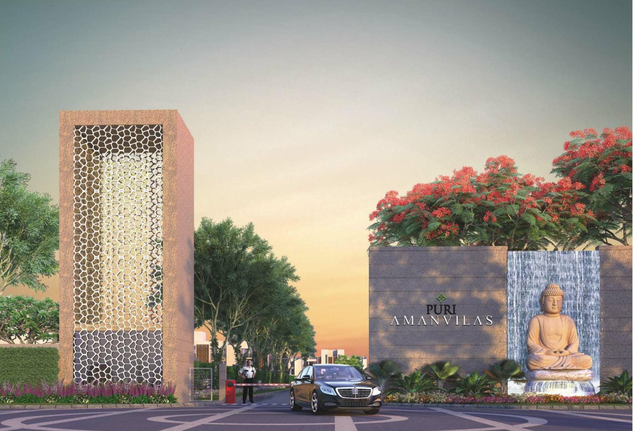 Puri Lavender Floors - Puri Aman Vilas Floors - Puri Aman Villas plotsReal EstateApartments  For SaleFaridabadOld Faridabad