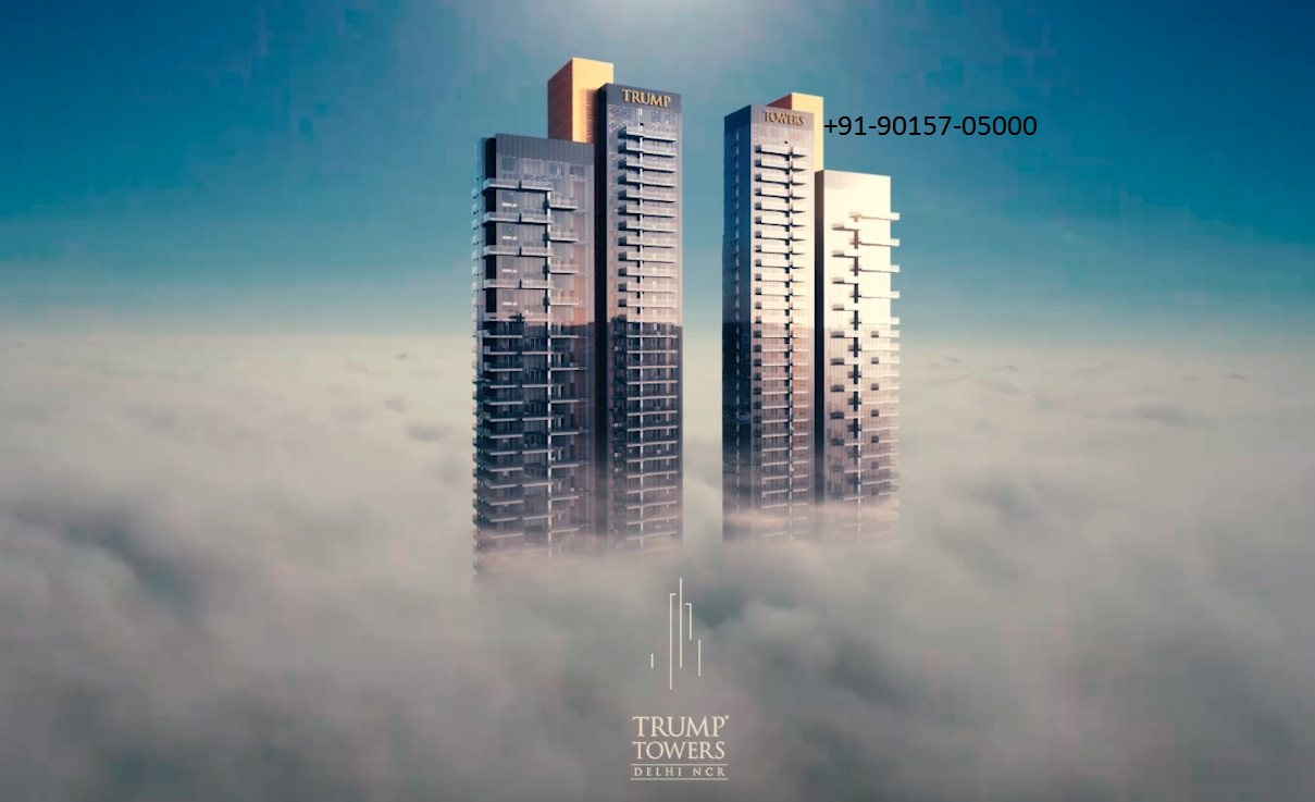 Trump Towers Apartments Price Sector 65 Gurgaon 90157 05000Real EstateApartments  For SaleGurgaonIFFCO Chowk