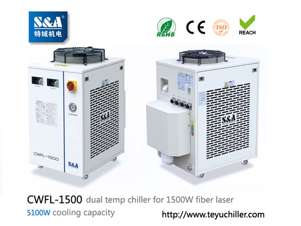 S&A water chiller CWFL-1500 for cooling 1500W metal fiber laser machineBuy and SellRefrigeratorsFaridabadBadkal