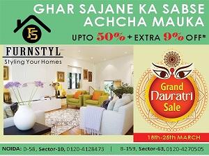 Furnstyl Chaitra Navratra Sales UPTO 50% + 9% offBuy and SellHome FurnitureNoidaNoida Sector 15