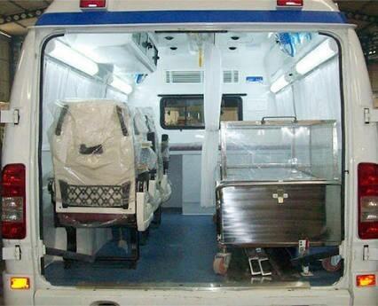 Body Freezer Box Ambulance Services