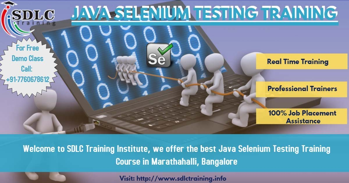 Java Selenium (Automation Testing) Training in Marathahalli, BangaloreEducation and LearningProfessional CoursesAll Indiaother