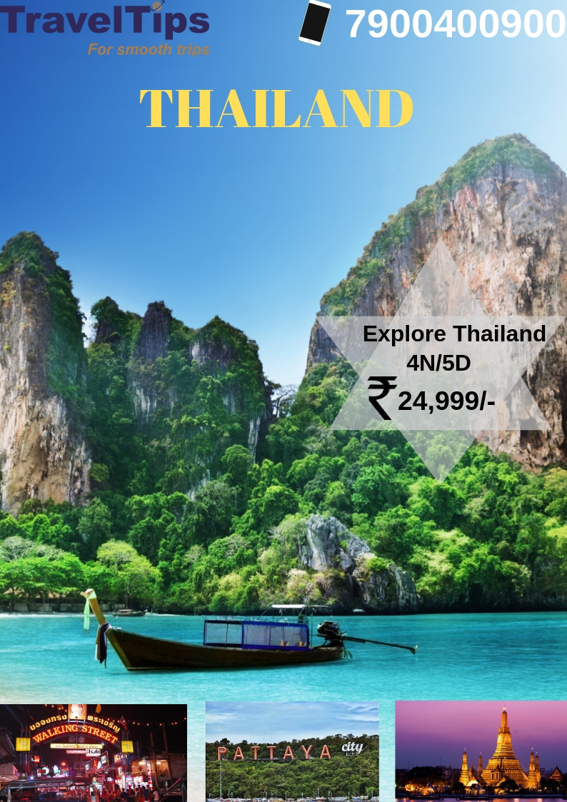 Explore Thailand with TravelTipsTour and TravelsTour PackagesNoidaNoida Sector 16