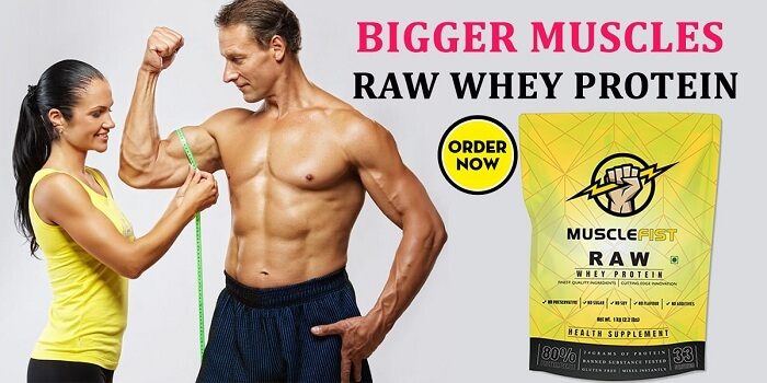 Get Raw Whey Protein Powder 1kg For Strong MusclesHealth and BeautyFitness & ActivitySouth DelhiOkhla