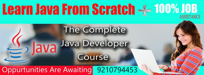 java summer training in pitampuraEducation and LearningProfessional CoursesNorth DelhiPitampura