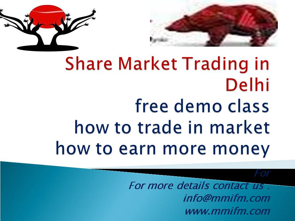 Share Market Classes in DelhiEducation and LearningProfessional CoursesNoidaNoida Sector 10