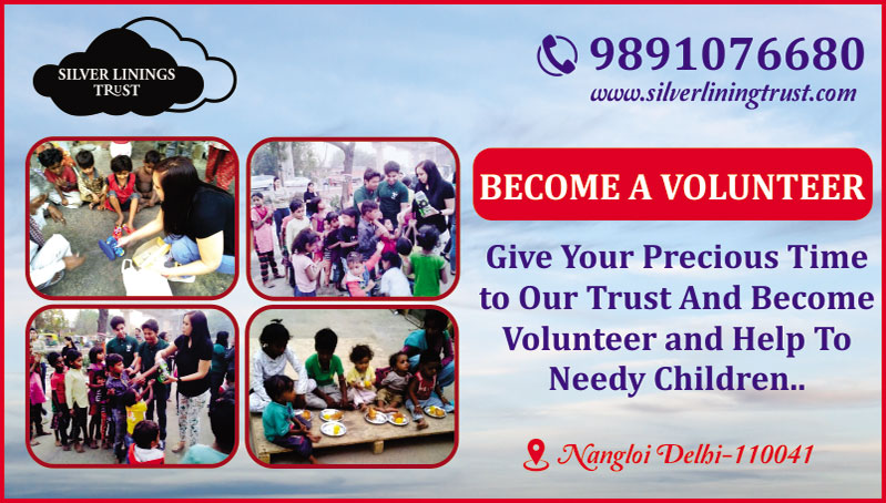 A Step Towards Needy Children - Silver Lining TrustCommunityCharity - Donate - NGOWest DelhiOther