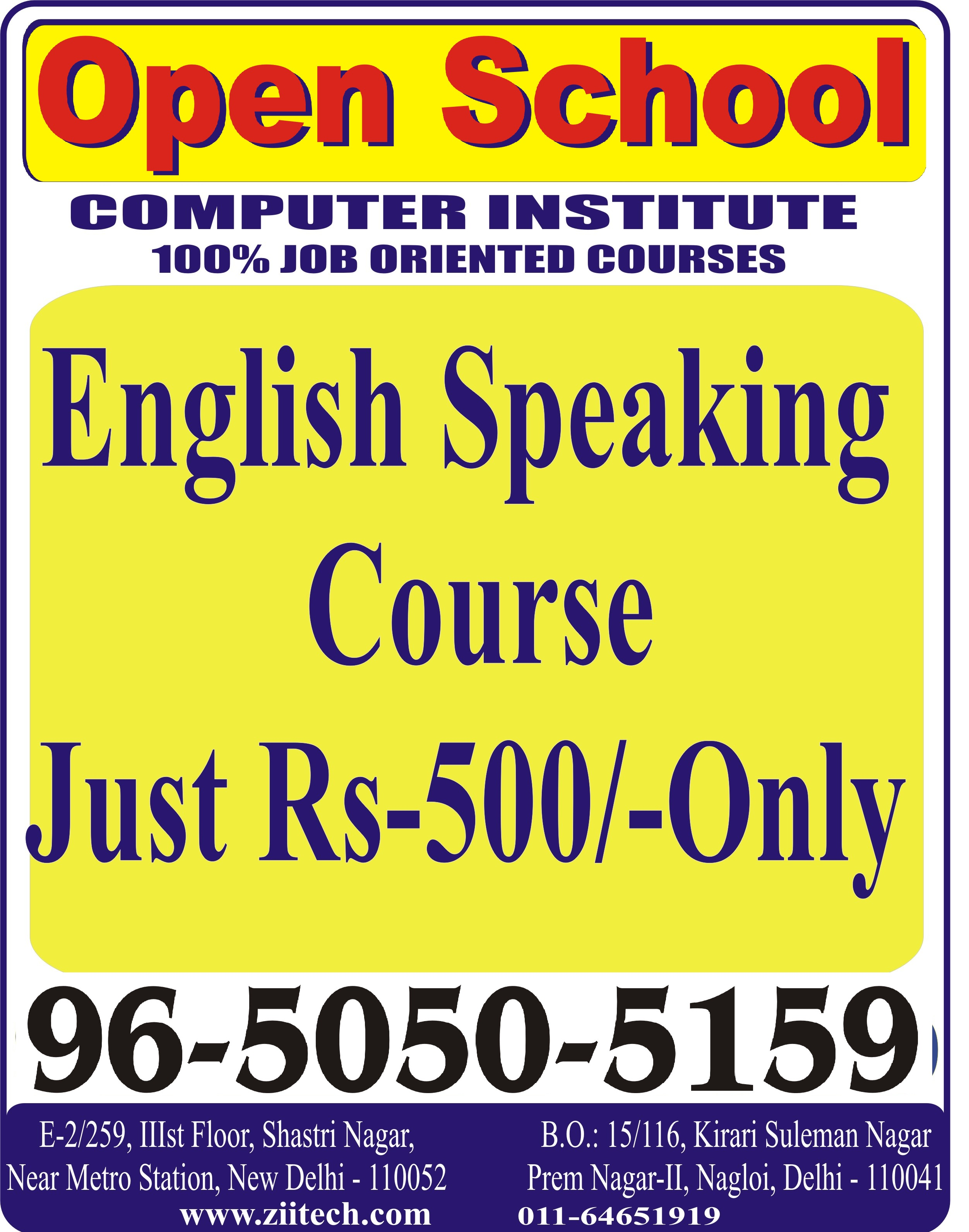 English speaking course just rs 500 only english speaking course in delhiEducation and LearningCoaching ClassesNorth DelhiKashmere Gate