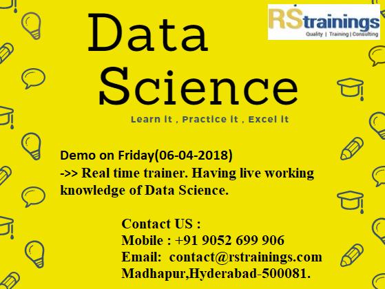 Data Science Training in MadhapurEducation and LearningCoaching ClassesFaridabadBallabhgarh